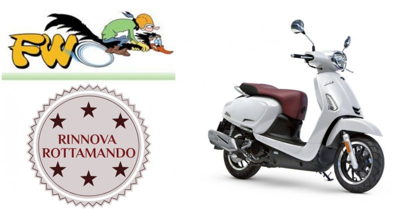 FW Fornaro World - occasione Kymco rinnova rottamando - offerta scooter kymco Bordighera