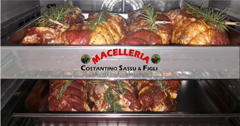 MACELLERIA SASSU Bonarcado -  offerta rosticceria gastronomia piatti pronti da cuocere