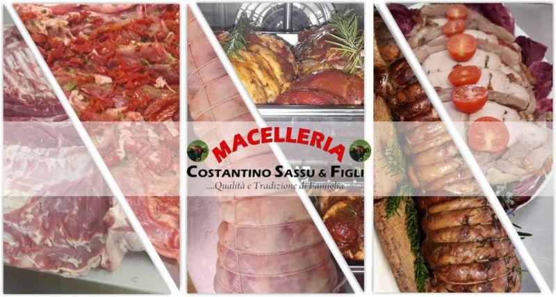 MACELLERIA SASSU rosticceria Bonarcado -  offerta rollè  arrosto di agnello disossato