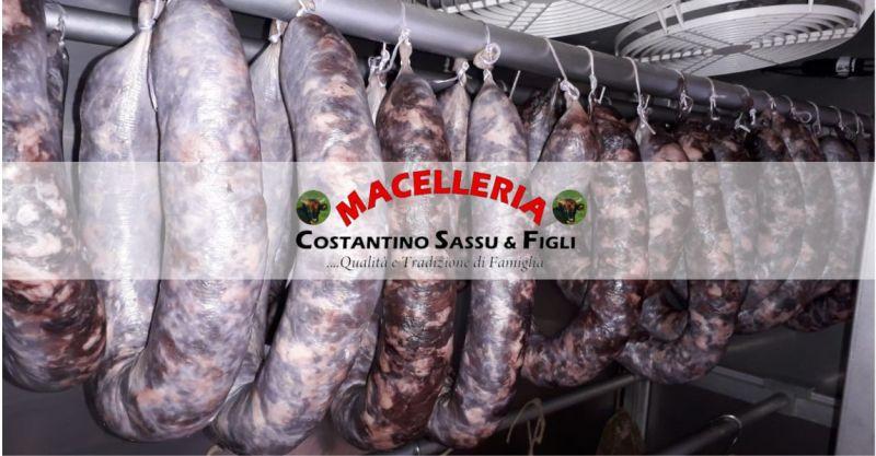 MACELLERIA SASSU -  offerta salumi artigianali tradizionali sardi di qualita