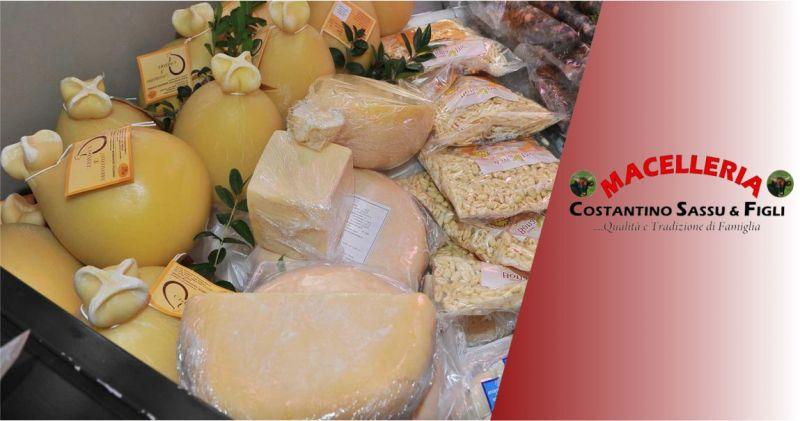 MACELLERIA SASSU Bonarcado -  offerta Casizolu del Montiferru formaggio tipico Oristanese