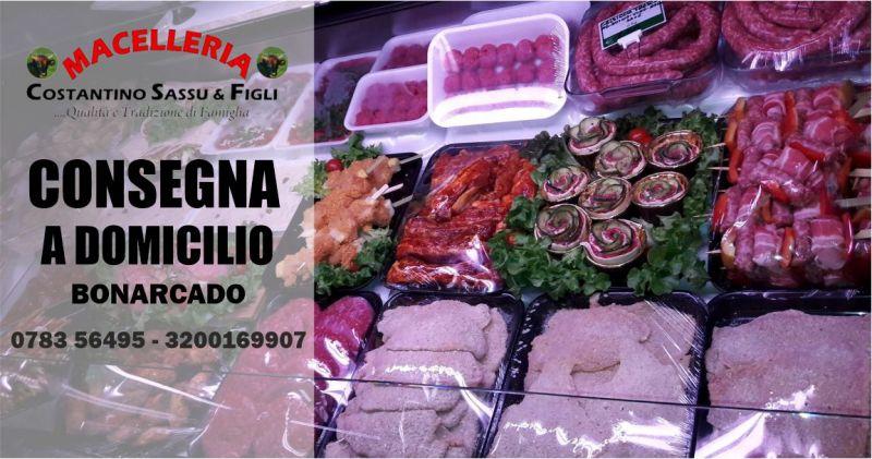 MACELLERIA SASSU -  offerta consegna carne e piatti pronti a domicilio