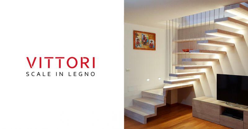 Vittori srl offerta scale su misura - promozione ringhiera in legno Ascoli Piceno