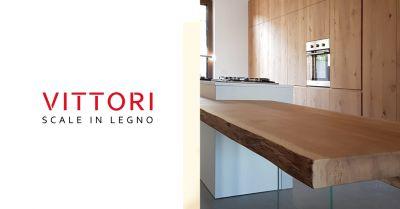 vittori scale offerta arredo in legno artigianale occasione tavolo piano in legno massello