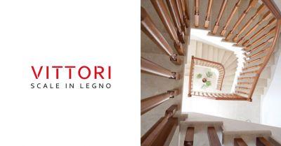 vittori scale offerta progetto scale in legno su misura roma