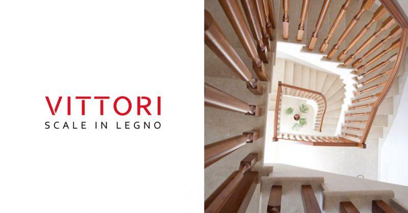 VITTORI SCALE - Offerta Progetto Scale in Legno Su Misura Roma