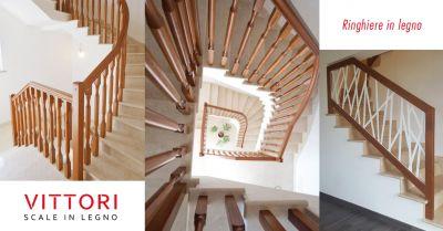 offerta ringhiera in legno scale roma occasione balaustra in legno scale roma