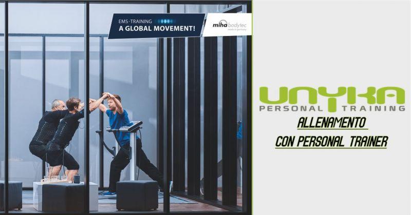 UNYKA palestra Cagliari - offerta allenamento intensivo con personal trainer dedicato