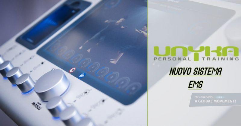 UNYKA palestra Cagliari - offerta  sistema EMS raggiungere forma fisica rapidamente