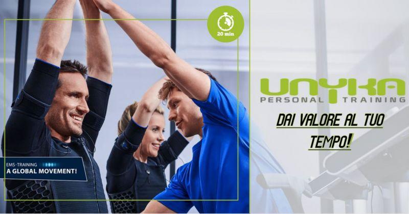 UNYKA palestra Cagliari - offerta  allenamento tornare in forma in poco tempo