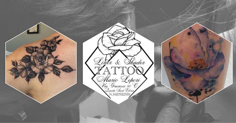 LINER&SHADER Lepori Mario - offerta tatuatore esperto tatuaggi bianco e nero e water color