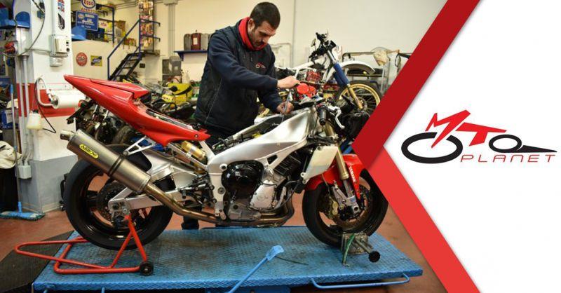 Offerta Riparazione Moto Grosse Cilindrate Ancona - Occasione Vendita Riparazione Gomme Moto Ancona