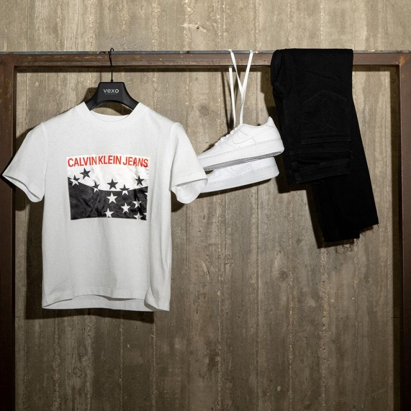 vendita online Calvin Klein - occasione Calvin Klein Jeans pantalone - occasione Tommy Hilfiger
