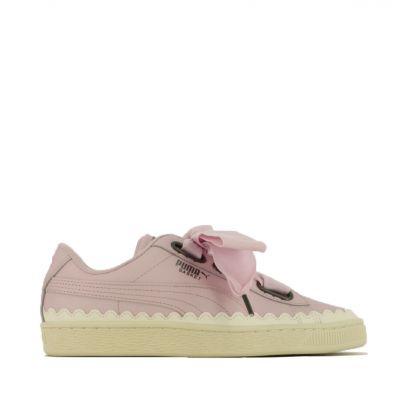 offerta scarpe puma occasione puma basket heart scallop 366979 02 offerta sneaker puma