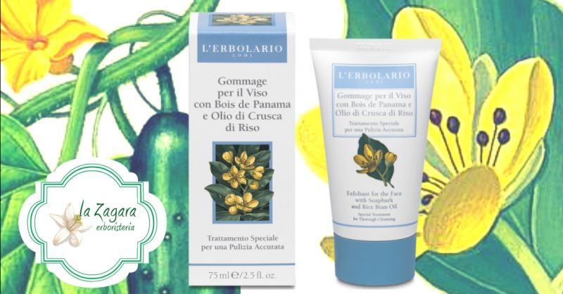 offerta scrub viso vendita online - occasione gommage per il viso L'Erbolario