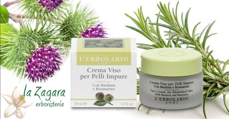 offerta crema viso pelle grassa vendita online - occasione crema viso pelli impure Erbolario