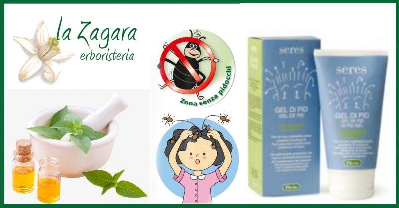 ERBORISTERIA LA ZAGARA - offerta vendita gel capelli prevenzione pidocchi Derbe