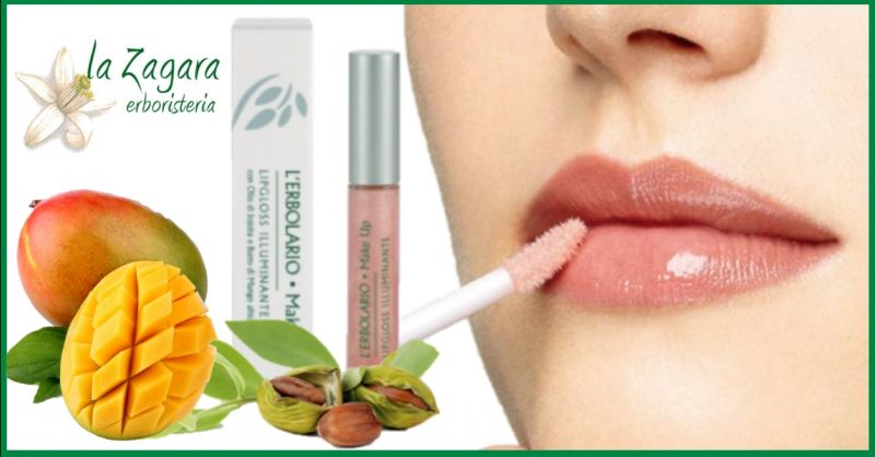 offerta vendita online lip gloss idratanti naturali - occasione acquisto lucidalabbra Erbolario