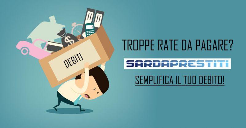 Sarda Prestiti  offerta consolidamento prestiti unica rata - finanziamento estinguere debito