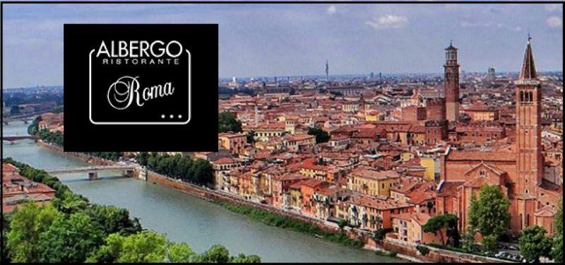 Hotel Roma - Übernachtungsangebot, bequem gelegen für einen Ausflug zum Amphitheater von Verona
