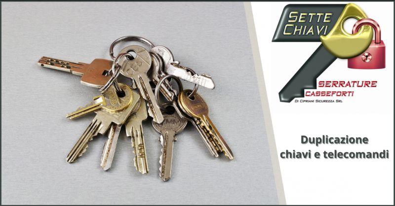Offerta servizio di duplicazione di chiavi Pomezia - occasione ferramenta chiavi Ostia