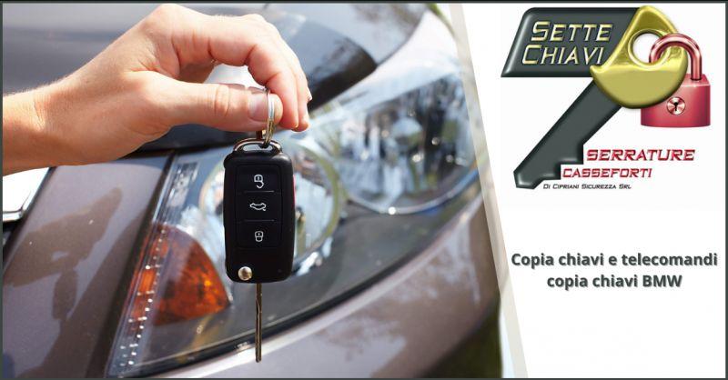 Offerta copia chiavi bmw Pomezia - occasione chiavi e telecomandi auto Anzio