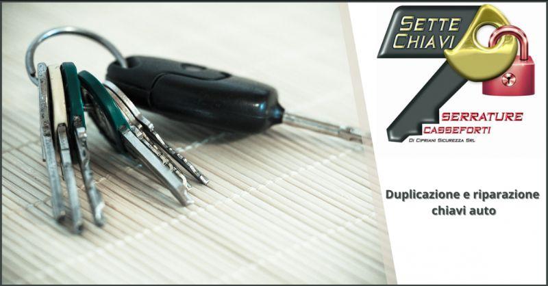 CIPRIANI SICUREZZA - Offerta duplicazione e riparazione chiavi auto Pomezia