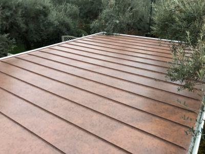 offerta tetti ricoperti in alluminio zinco titanio e rame toscana coperture metalliche