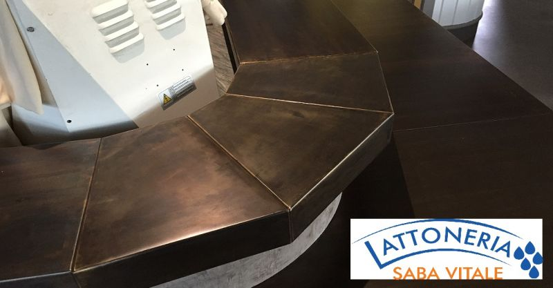 occasione arredo di interni in metallo Lucca - LATTONERIA SABA offerta posa in lattoneria