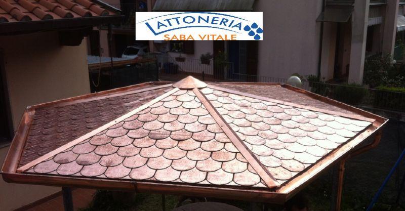offerta lattonerie e coperture in metallo - LATTONERIA SABA