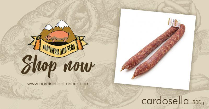 NORCINERIA ALTONERA - offerta vendita salame salsiccia cardosella online