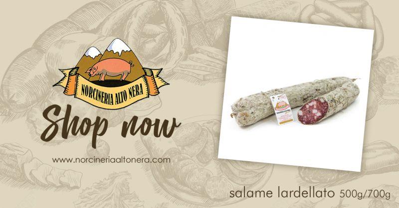NORCINERIA ALTONERA - offerta vendita salame marchigiano lardellato online