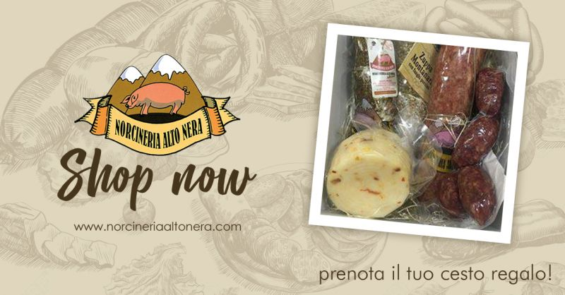 NORCINERIA ALTONERA - offerta vendita cesti regalo prodotti tipici online
