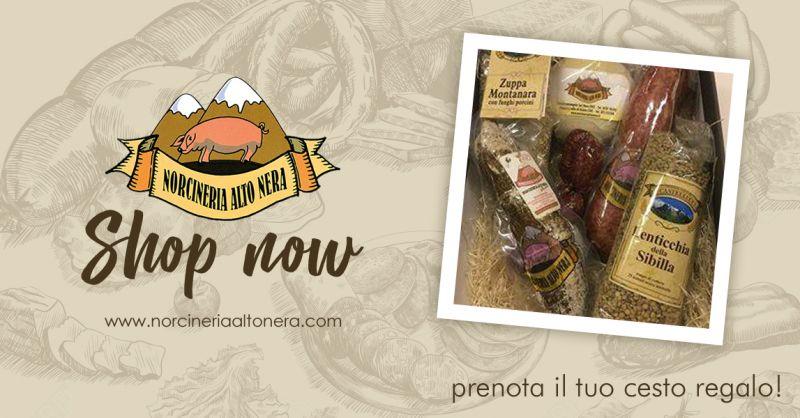 NORCINERIA ALTONERA - offerta vendita cesti regalo gastronomia tipica online