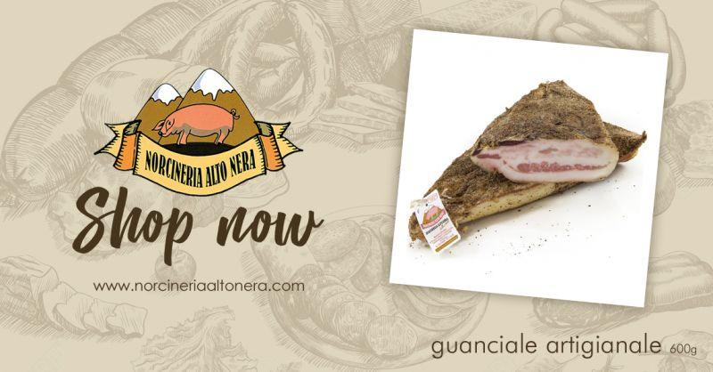 NORCINERIA ALTONERA - offerta vendita guanciale artigianale online