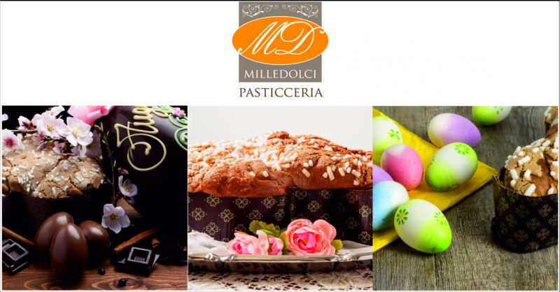 pasticceria mille dolci offerta dolci pasqua - occasione colombe a uova al cioccolato