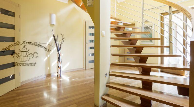 Bagordo arredamenti offerta gradini legno massello - occasione scale legno ulivo Brindisi