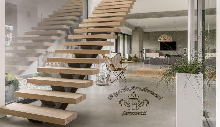 Bagordo Arredamenti Serramenti offerta scale in legno - occasione gradini legno Brindisi