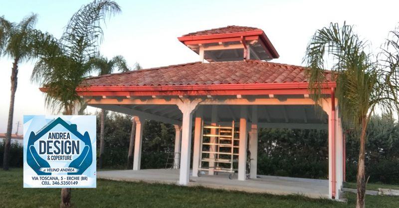 Andrea design & coperture offerta coperture strutture balneari - occasione tetto Brindisi
