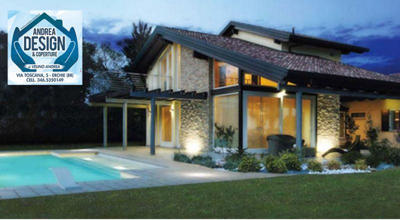 Andrea design e coperture offerta tetti in legno - occasione coperture e gazebi Brindisi