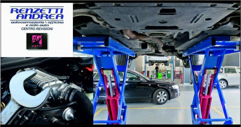 Autocarrozzeria Renzetti offerta centro revisioni - occasione autofficina meccanica