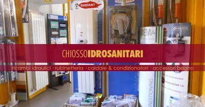 chiosso idrosanitari offerta vendita condizionatori multimarca torino