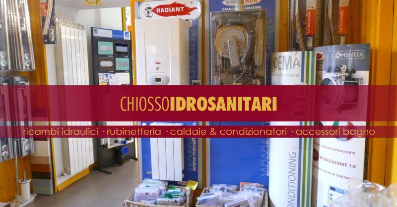 CHIOSSO IDROSANITARI - offerta vendita condizionatori multimarca torino