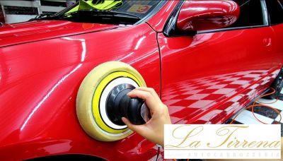 offerta servizi lucidatura auto lucca autocarrozzeria la tirrena