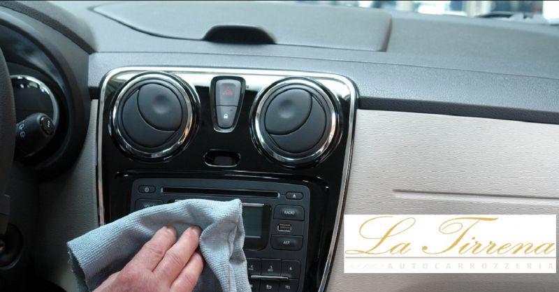 promozione pulizia e sanificazione interni auto Lucca - offerta lavaggio sedili auto Lucca