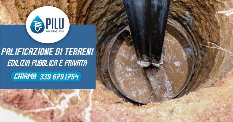 PADRU TRIVELLAZIONI IDRICHE - offerta servizio di palificazione terreni lavori edilizia pubblica e privata