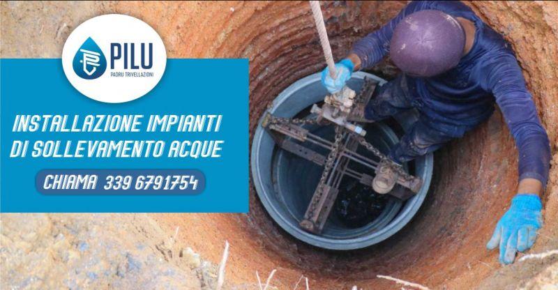 PADRU TRIVELLAZIONI IDRICHE - offerta installazione impianti di sollevamento acque Sardegna e Toscana