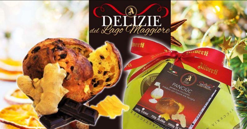 PASTICCERIA ALIVERTI - Occasione panettone artigianale con zenzero candito goccie di cioccolato