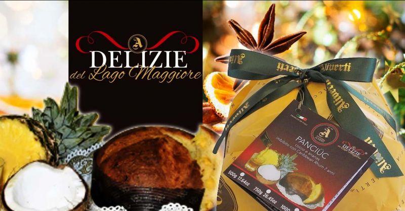 PASTICCERIA ALIVERTI - Promozione vendita online panettoni artigianali al cocco e ananas e Rhum