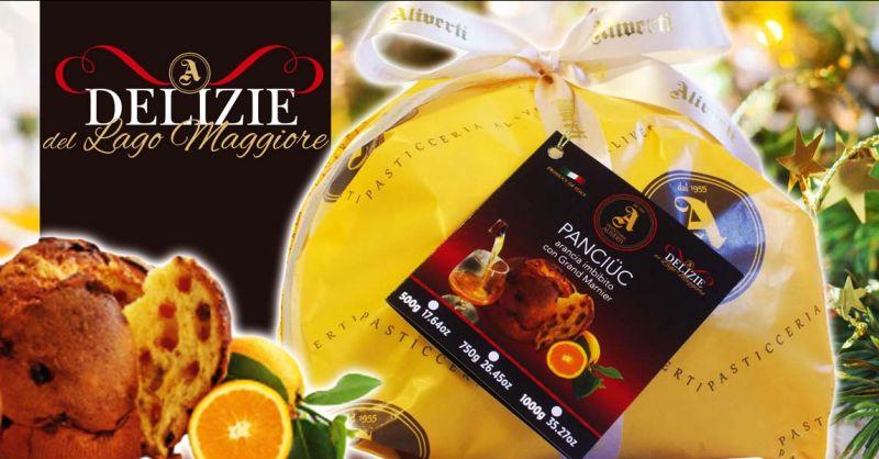 PASTICCERIA ALIVERTI - Offerta panettone artigianale all'arancia candita e Grand Marnier
